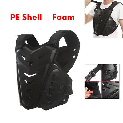 1pc RANDOM bandana Seahouse Kids Dirt Chest Spine Protector Body Protective Vest Gear for Bike Motocross Snowboarding Skiing M for height 45-51