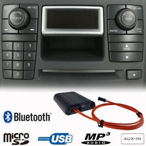 bluetooth a2dp handsfree usb sd aux adapter for volvo xc90 2002