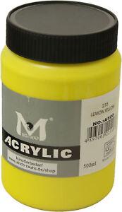 500-ml-Magi-Kuenstler-Acrylfarbe-lemon-yellow-215