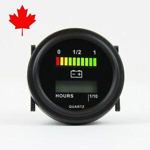 LED-Digital-Battery-Indicator-Gauge-with-Hour-Meter-12V-24V-36V-48V-72V-for-Golf