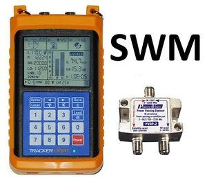 TRACKER-LIGHT-Satellite-Signal-Meter-SWM-Compatible-Directv-Dish-Network