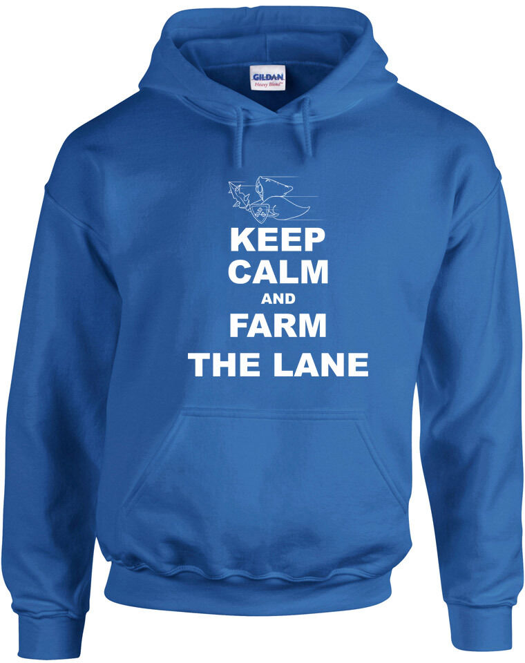 Keep Calm and Farm the Lane League of Legends Inspired Printed Hoody