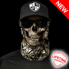 Salt Armour SA SNOW CAMO SKULL  Face Shield Sun Mask Balaclava  **USA**