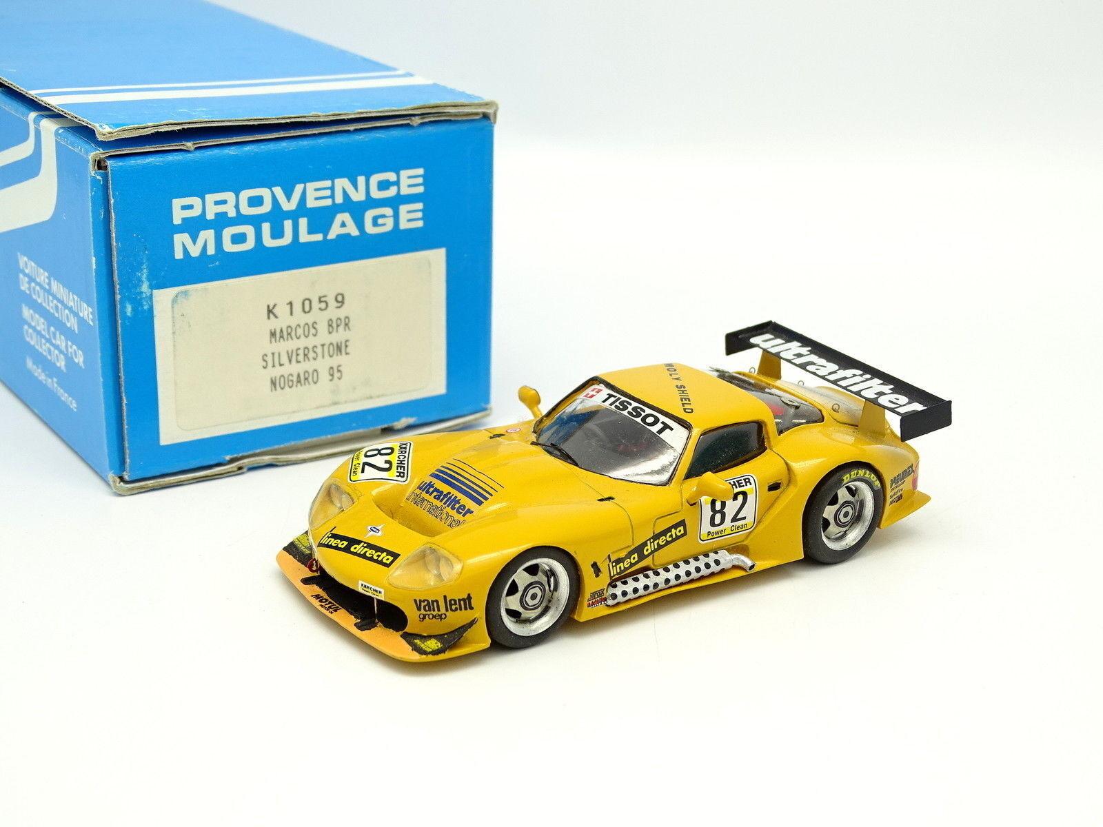 Provence Moulage Kit Monté 1 43 - Marcos BPR Silverstone Nogaro 1995