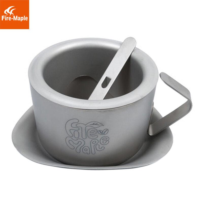 Fire Maple FMC-1702001 Titanium Coffee Cup Camping Double-wall Tea Mug