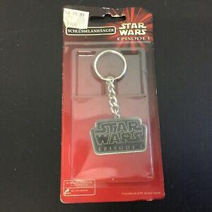 1999#star Wars Episode I Keychain#mosc [rst] éLéGant Et Gracieux