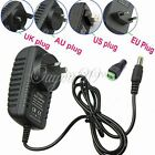 DC 12V 2A Power Supply Adapter Charger Transformer Plug FOR CCTV LED STRIP LIGHT