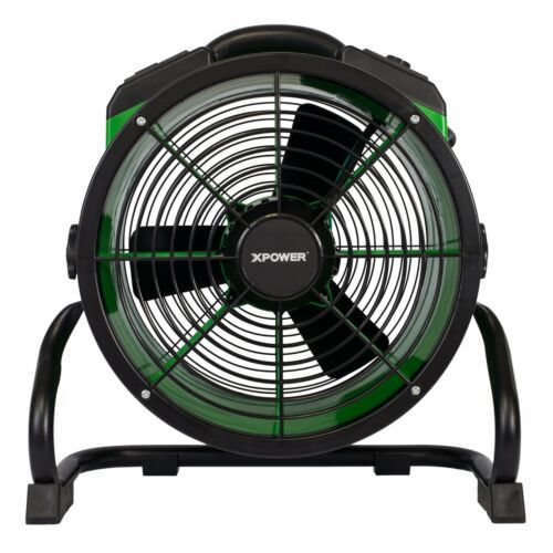 XPOWER X-34AR 1//4 HP Industrial Sealed Motor Axial Fan Floor Air Mover w Outlets