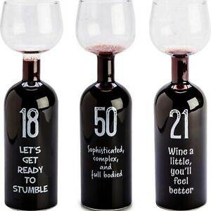 Wine-Bottle-Glass-18th-21st-50th-Large-Red-White-Birthday-Party-Novelty-Gift