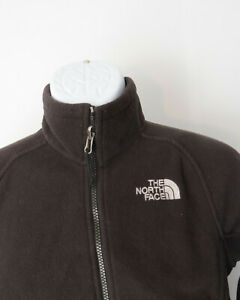 vtg-WOMENS-Ladies-Small-BLACK-NORTH-FACE-FLEECE-Jacket-Sweater-PULLOVER-S-Sm