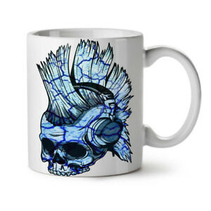 Funk Music Metal Skull NEW White Tea Coffee Mug 11 oz   Wellcoda