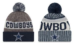 Dallas-Cowboys-Cuffed-Beanie-Knit-Winter-Cap-Hat-NFL-Authentic