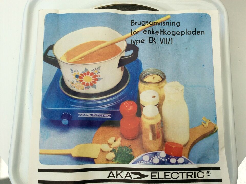 Glaskeramisk kogeplade, andet mærke Aka Electric EK VII/1