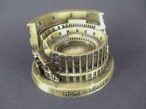 Colosseum-Rom-Italien-Souvenir-Metall-Modell-bronziert-13-cm