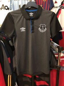 Men-039-s-Everton-polo-training-shirt-size-S-Umbro