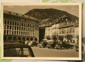Foto-1956-Italien-VW-Brezel-Kaefer-Fiat-Alpen-auto-car-Y8