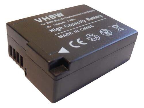 BATTERY CHIP 1000mAh for Panasonic Lumix DMC-FZ200 DMC-FZ1000