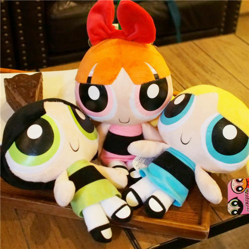 "3pcs//set The Powerpuff Girls 1999 Cartoon Network Plush Toy 8/"" Doll Xmas Gift"
