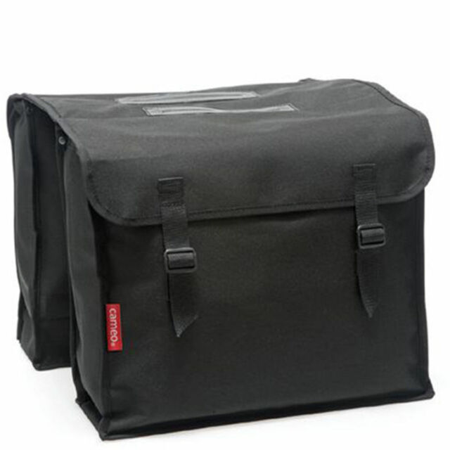New Looxs Cameo Double Pannier Bicycle 30 L Black