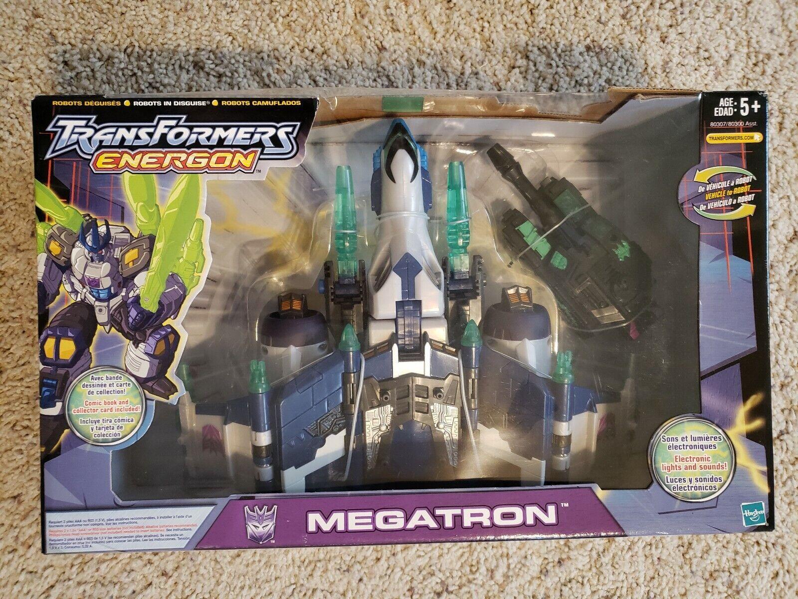 Transformers Energon Megatron dans boîte scellée Wal Mart Exclusive   en ligne au meilleur prix