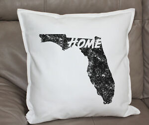 Throw Pillow Case 20 X 20 : Florida State Home Miami Cushion Decorative Throw Pillow Cover Case 20