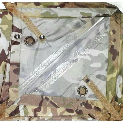 CAMPING //CADETS HOOTCHIE MULTICAM 278X186CM 560 GRAMS TAPED SEAMS HOOCHIE ARMY