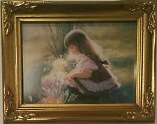 COLORS OF SPRING DONALD ZOLAN FRAMED LITHOGRAPH NUMBERED PRINT PEMBERTON & OAKS