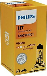 PHILIPS Glühlampe, Birne Auto H7 12 V 55 W PX26d