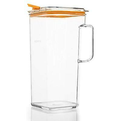 Komax Tritan BPA-Free Pitcher 64 Ounce Orange Lid 1 for sale online | eBay