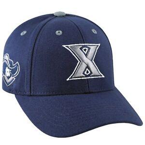 XAVIER-MUSKETEERS-NCAA-TRIPLE-THREAT-ADJUSTABLE-STRAPBACK-TOW-NAVY-CAP-HAT-NWT