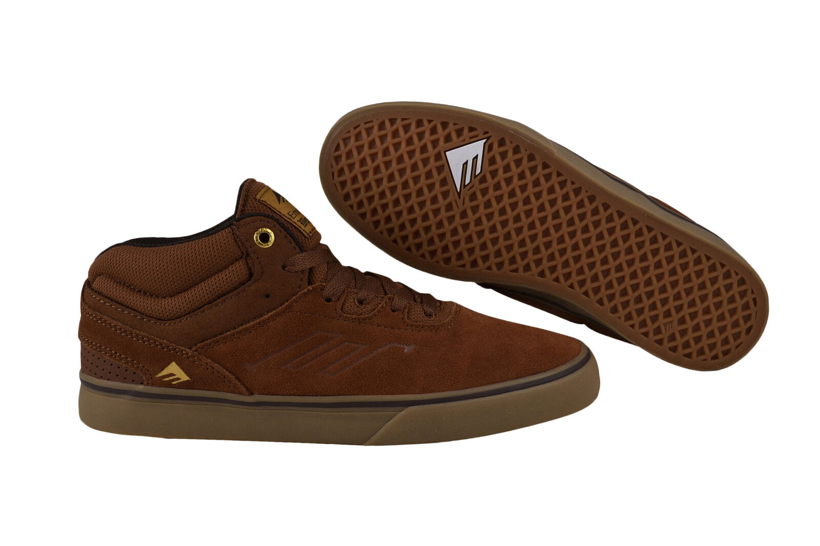 Emerica Westgate mid vulc Brown/Gum Sneaker/zapatos marrón