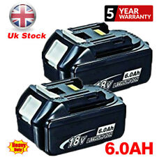 2X 18V 6AH LXT Li-Ion Battery For Makita BL1840 BL1830 BL1850 Cordless Drill NEW