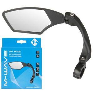 M-Wave-Spy-Space-Bicycle-Mirror-E-Bike-Compatible-Left-3-D-Adjustable