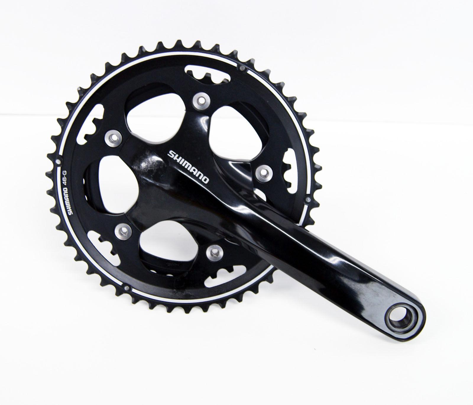 Shimano ciclocross FC-CX50 46-36 T 170 mm Negro Bielas efccx 50CX66L