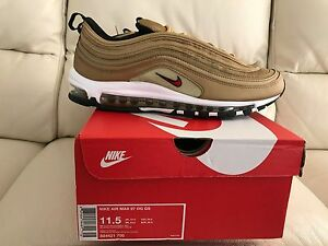 Details about 2017 NIKE AIR MAX 97 METALLIC GOLD BULLET ALL SIZES UK 6 7 8 9 10 11 NEW