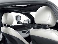 Orig Mercedes Holder For Action Cam Camera Like Go Pro Style & Travel Equipment
