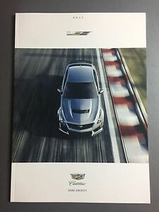2017 Cadillac ATS-V & CTS-V DELUXE Showroom Sales Brochure RARE Awesome L@@K