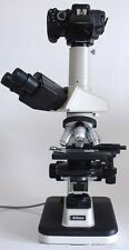 Nikon Labophot 2 Microscope Camera Kit 10x Lens 2 Sony Alpha Nex Eclipse Optiph