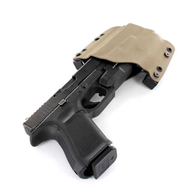 OWB Holster for INFORCE APL Gen 3 - 50 Different Gun Models- FDE-FLAT DARK  EARTH