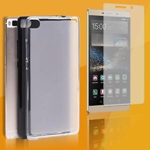 HANDY-HULLE-Schutz-Cover-PANZER-FOLIE-GLAS-Silikon-Case-Tasche-Transparent