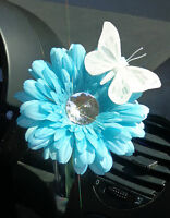 Vw Beetle Flower - Light Blue Diamond Daisy