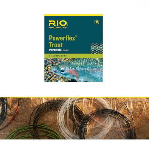 Rio Powerflex Trout Leader size 6x  3.4lb 7.5ft