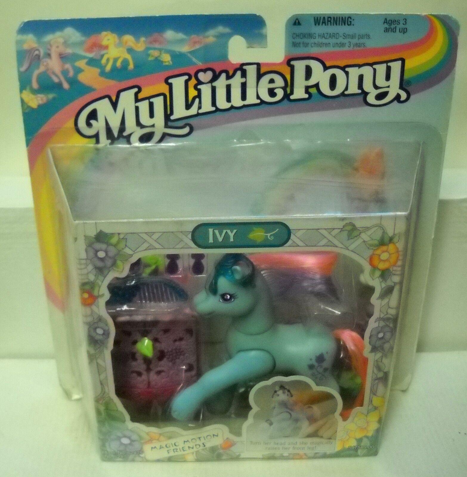 NRFC Vintage Kenner (Hasbro) My Little Pony Magic Motion Friends Ivy