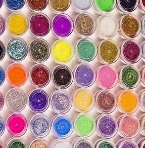 SIRENA-effetto-glitter-contenitori-FINE-polvere-iridescente-NEON-NAIL-ART-GEL