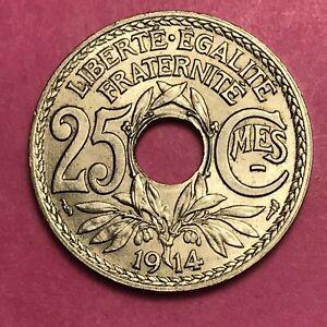 #449 - 25 Centimes 1914 Lindauer Spl/fdc Facture De Bons Compagnons Pour Les Enfants Comme Pour Les Adultes