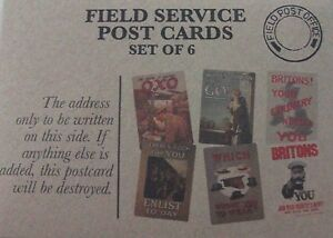 6X Field service postcards WWI REPRINTS by Robert OPIE envelope military craft - <span itemprop=availableAtOrFrom>Huddersfield, United Kingdom</span> - 6X Field service postcards WWI REPRINTS by Robert OPIE envelope military craft - Huddersfield, United Kingdom