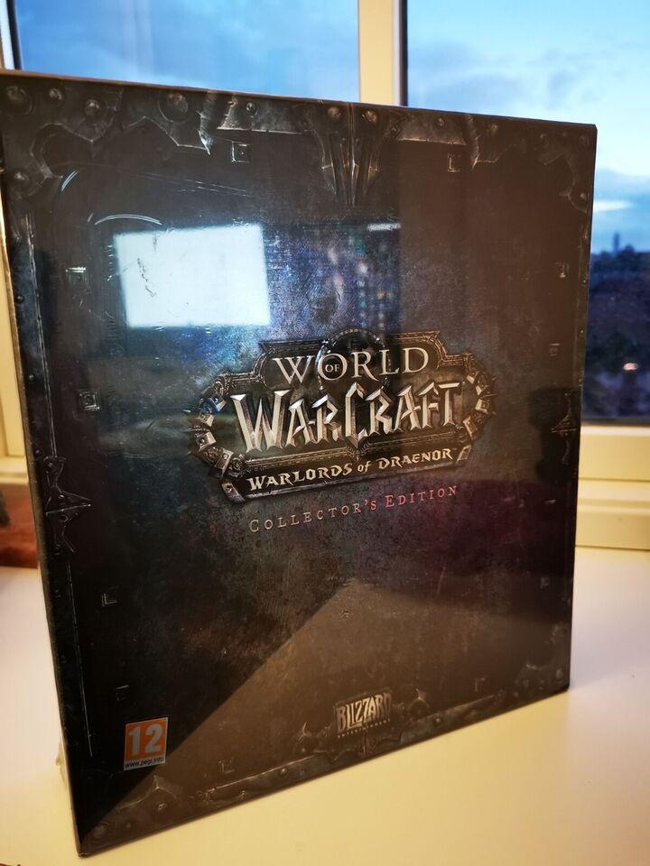 Warlords of draenor collectors edition, til pc, til Mac