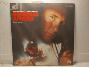 "Internal Affairs Paramount 12"" Laserdisc Movie lp5331"