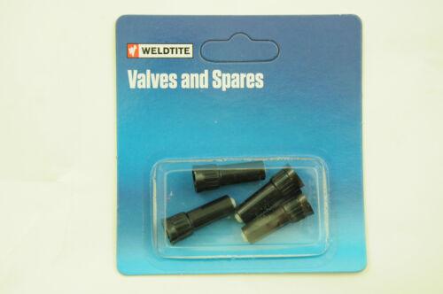 SET OF 4 WELDTITE 19mm SCHRADER PLASTIC VALVE EXTENSIONS EXTEND CAR VALVE 19mm