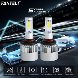 CREE 9006 LED Headlight Lamp Light Bulbs Conversion Kit 1950W 292500LM HID 6000K